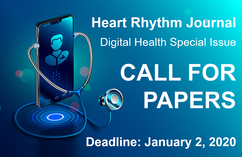 Call for Papers: Heart Rhythm Digital Health Special Issue