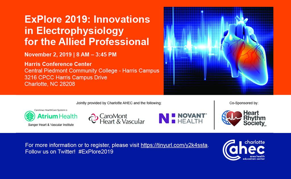 ExPlore 2019: Innovations in Electrophysiology for the Allied Professional